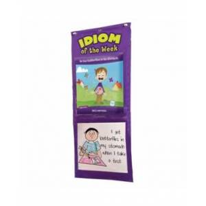 Learning Resources Educational Insights Idiom Of The Week Pocket Chart