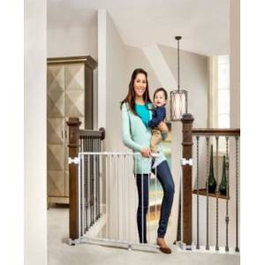 Regalo Top Of Stairs Metal Safety Gate