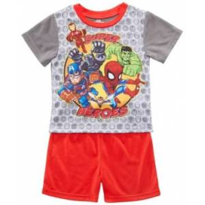Ame Toddler Boys 2-Pc. Marvel's Avengers Graphic Pajamas