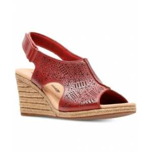 Clarks Collection Women's Lafely Rosen Wedge Sandals Women's Shoes