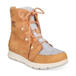 Sorel Women's Explorer Joan Waterproof Booties Women's Shoes
