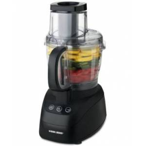Black & Decker PowerPro Wide-Mouth 10-Cup Food Processor