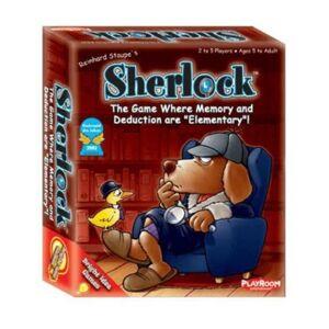 Playroom Entertainment Sherlock Card Game