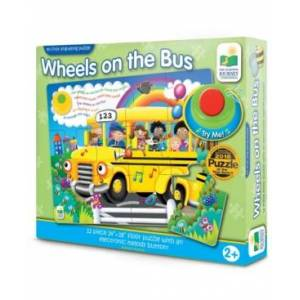 The Learning Journey My First Sing-Along Puzzle - Wheels on the Bus- 12 Pieces