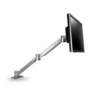 Peripheral Logix Extended Reach Monitor Arm Silver