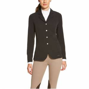 Ariat Women's Artico Show Coat in Black, size 6 by Ariat