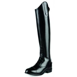 Ariat Women's Quantum Crowne Pro Field Zip Boots in Black Leather, size 5.5 by Ariat