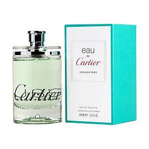 EAU DE CARTIER by Cartier CONCENTRATE EDT SPRAY 3.3 OZ for UNISEX