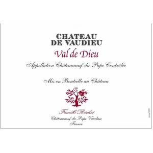 Chateau de Vaudieu 2016 Val de Dieu Chateauneuf-du-Pape - Rhone Blends Red Wine