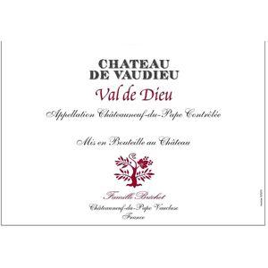 Chateau de Vaudieu 2016 Val de Dieu Chateauneuf-du-Pape - Rhone Blends Red Wine