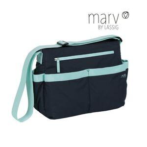 Lassig Marv Shoulder Bag Blue
