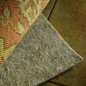 Surya Rugs 100% Felted Wool Reversible Rug Pad