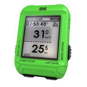 Pyle Smart Bicycling Computer with GPS Performance & Navigation Analysis Software and ANT+ Technology for Biking, Training, Exercise, Fitness (Green Color)