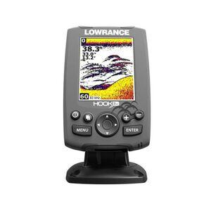 Lowrance Hook-3X Fishfinder with XDCR 83/200 Transducer
