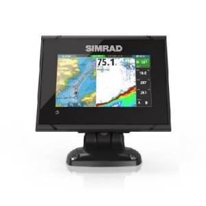 SIMRAD 000-12675-001 SIMRAD GO5 XSE 5 PLOTTER WITH TOTALSCAN TRANSOM MOUNT