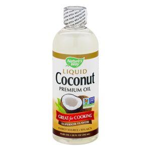 Celebration Herbals Nature's Way Liquid Coconut Premium Oil, 20.0 FL OZ