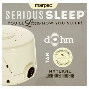Serious Sleep Marpac Serious Sleep Tan Natural Dohm White Noise Machine