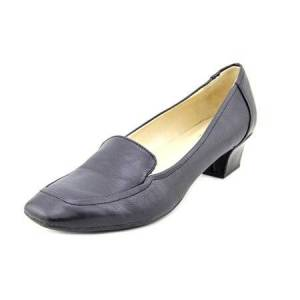 Naturalizer Faintly Women Square Toe Synthetic Black Heels
