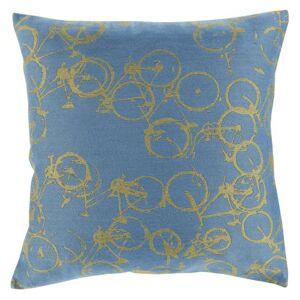 Surya Bold Bicycles Decorative Pillow