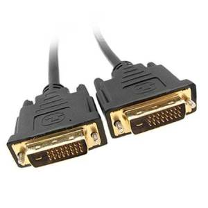 Unique 10M DVI-D Dual Link 24+1 Pin Male to Male Digital Video DVI Cable