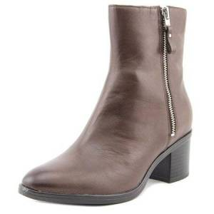 Naturalizer Harding Round Toe Leather Ankle Boot