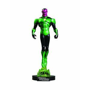 dc direct green lantern: emerald knights dvd sinestro maquette
