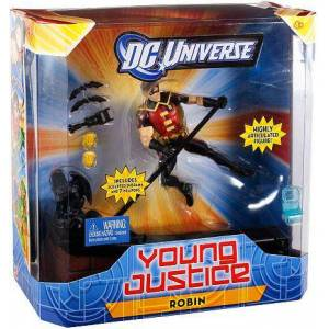 """Mattel DC Universe Young Justice 6"""" Robin Figure"""