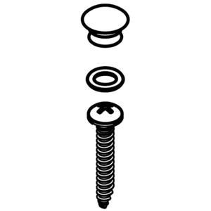 Moen 131099 Handle Cap Kit for CA84912