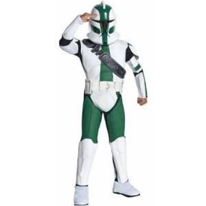 Star Wars The Clone Wars Clone Trooper Commander Gree Child Halloween Costume