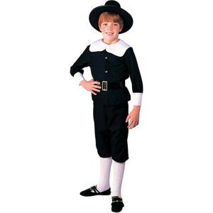 Generic Pilgrim Boy Child Halloween Costume
