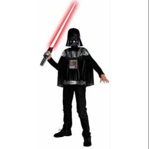 Star Wars Boys Darth Vader Star Wars T-Shirt Mask and Cape Costume