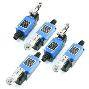 Unique 5pcs Momentary Rotary Roller Arm Limit Switch SPDT ME8108 for CNC Mill Plasma