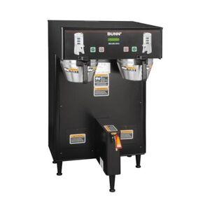 BUNN 34600. 0004 BrewWISE Dual Thermo Fresh Digital Brew Control 120/208V NO Funnel Lock Brewer