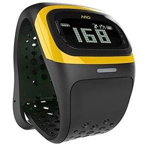 Mitac Mio Alpha 2 - Bluetooth Smart Heart Rate Watch - Yellow Trim (Unisex Strap)