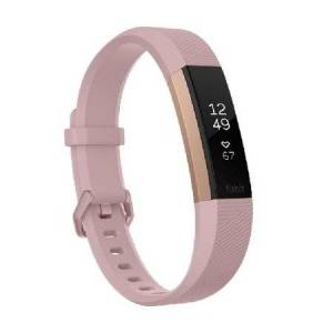 Fitbit Alta HR Heart Rate Wristband - Large (Special Edition Pink/Rose Gold)