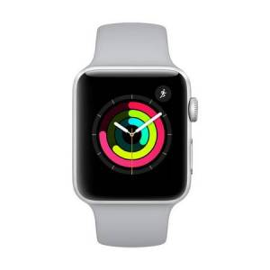 Apple Watch Series 3 GPS Aluminum Case with Sport Band