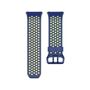 Fitbit Ionic Accessory Sport Band Blue/Yellow Large