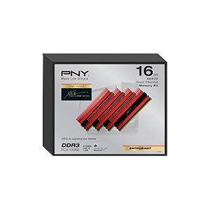 PNY 16Gb Kit ( 4X4Gb) Pc17000 Cas 10