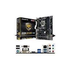 Gigabyte GA-B150M-D3H GIGABYTE GA-B150M-D3H R.1 White Box Intel LGA1151 Motherboard - Refurbished