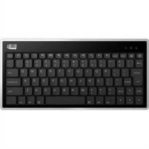Adesso Bluetooth 3.0 Scissor-Switch Mini Keyboard With Pouch For All Ipads (Ipad