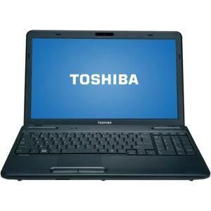 "Toshiba Black 15.6"" Satellite C655-S5123 Laptop PC with Intel Celeron 925 Processor and Windows 7 Home Premium"