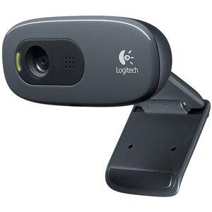 Logitech Webcam C260 - Web camera - color - 1280 x 720 - audio - USB 2.0