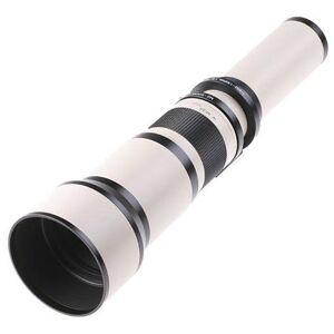 Samyang 650-1300mm f/8-16 Telephoto Lens (White) (T Mount)