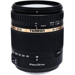 Tamron Auto Focus 18-270mm f/3.5-6.3 PZD All-In-One Zoom Lens with Built in Motor for Sony DSLR Cameras (Model B008S)