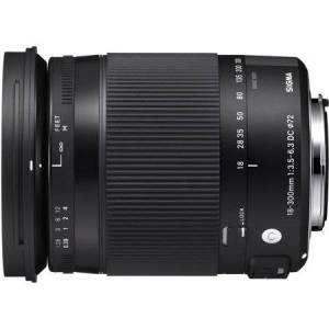 Sigma 18-300mm F3.5-6.3 DC Macro OS HSM Lens (Contemporary) for Sigma DSLR Cameras