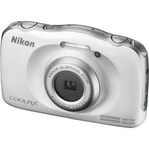Nikon Coolpix W100 Wi-Fi Shock & Waterproof Digital Camera (White)