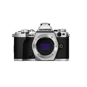 Olympus OM-D E-M5 Mark II Mirrorless Camera (Body Only), Silver