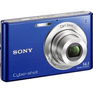 Sony Cyber-shot W330 Blue 14.0MP Digital Camera with 4X Optical Zoom