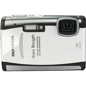 """Olympus Stylus Tough 6000 White 10 MP Digital Camera, 3.6x Optical Zoom 2.7"""" Hypercrystal III LCD, Shockproof (5'), Waterproof (10')"""