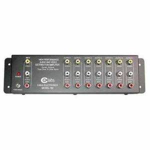 C2G 7-Output RCA Audio/Video Distribution Amplifier